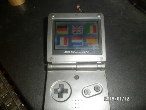 Game Boy Nintendo Advance Sp Oferta