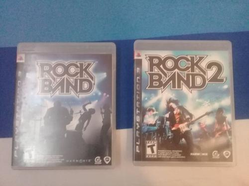 Juego Original Play 3. 2x1. Rock Band Y Rock Band 2.