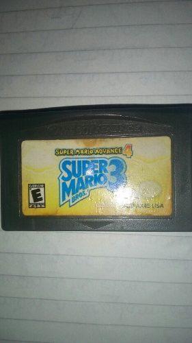 Juego Original Super Mario Bros 3 Advance Game Boy