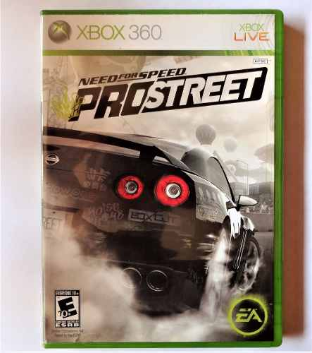 Juego Para Xbox 360 Original Need For Speed Pro Street