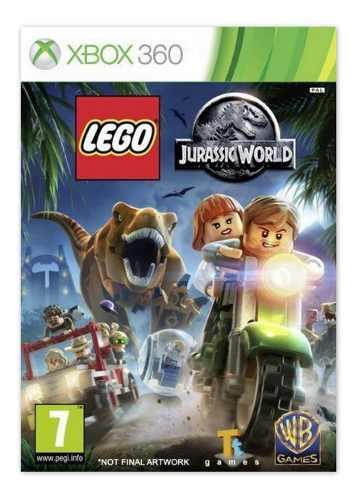 Lego Jurassic World Juego Para Xbox 360 Totalmente Original
