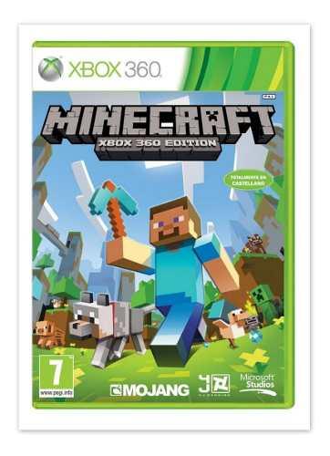 Minecraft Juego Para Xbox 360 Totalmente Original