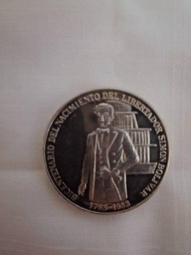 Moneda Conmemorativa Bicentenario Del Libertador