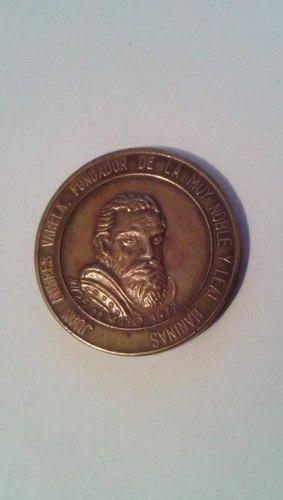 Moneda Conmemorativa Del Cuatricentenario De Barinas