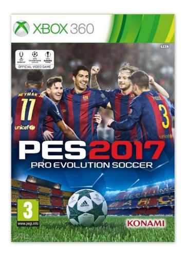 Pes 17 Juego Para Xbox 360 Totalmente Original