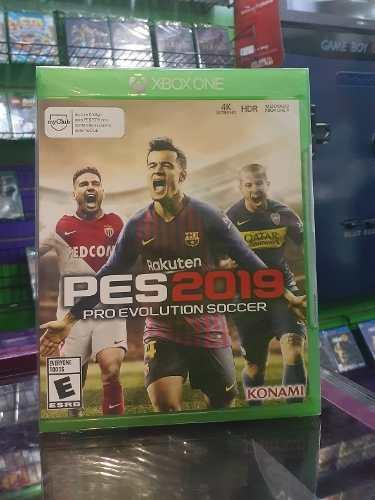 Pes  Xbox One Fisico Sellado Control And Play