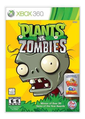 Plants Vs Zombies Juego Para Xbox 360 Totalmente Original