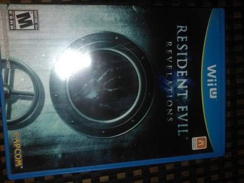 Resident Evil Revelation Wii U (fisico)
