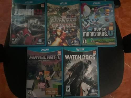 Se Venden Juegos De Wii Y Wii U