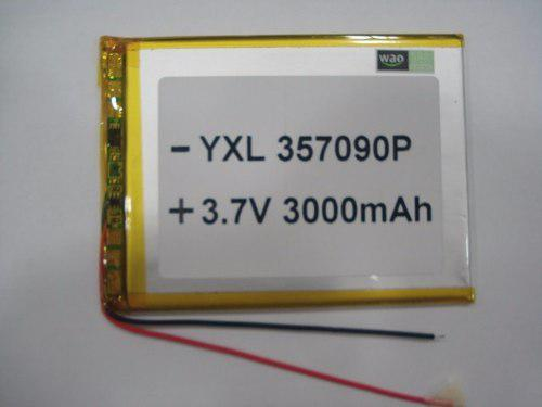 Bateria Pila Tablet China 7 3.7v 3000 Mah Tienda Fisica