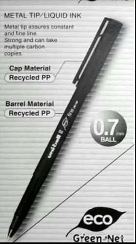Bolígrafo De Gel Uniball Micro Ub-103 Negro. (Bs. )