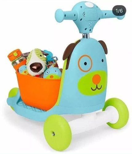 Carrito Montable Scooter 3 En 1.