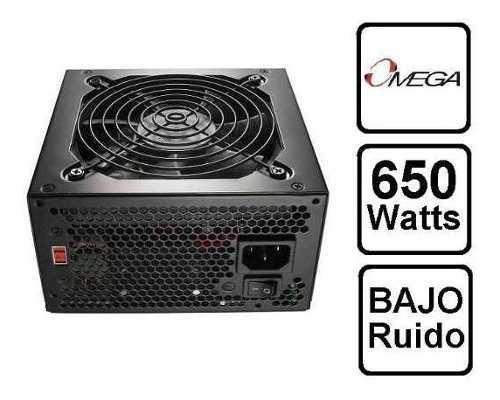 Fuente De Poder 650 Watt Omega