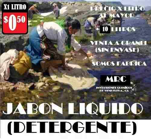 Jabon Liquido X 10 Litro - Venta Al Mayor - Somos Fàbrica