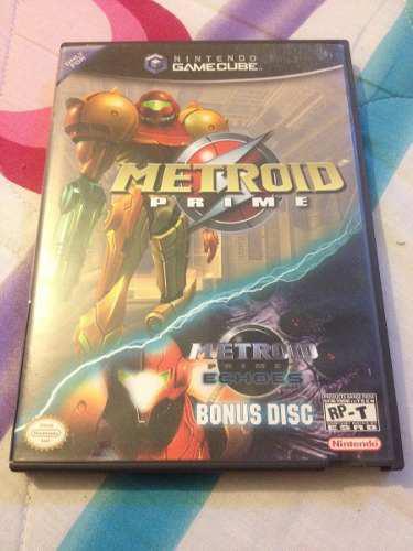 Juego Original Nintendo Gamecube Metroid Prime + Disco Bonus