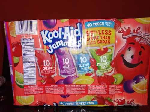 Kool Aid (bebidas Para Meriendas)