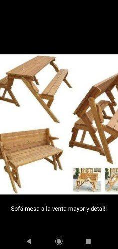 Muebles De Madera De Pino Y Saman