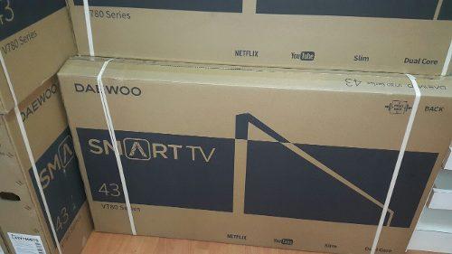 Tv Daewoo Smart Tv De 43pulg Nuevo Somos Tienda Física