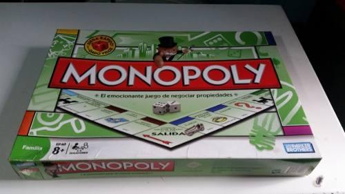 Juego De Monopolio Parker Brothers Hasbro