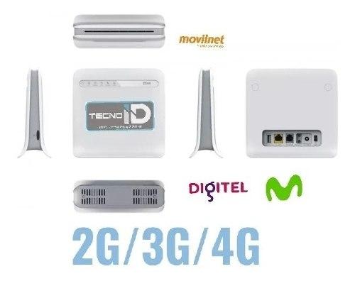 Modem Router Wifi Zte Mf 253 Movistar,digitel 4g,3g,2g