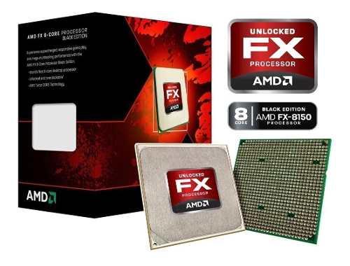 Procesador Amd Fx  Black Edition 8 Nucleos