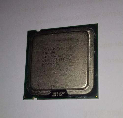 Procesador Intel Pentium D 2.8 Ghz Socket  M/ 800 Disip