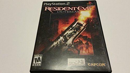 Resident Evil Outbreak Para Playstation 2 Original