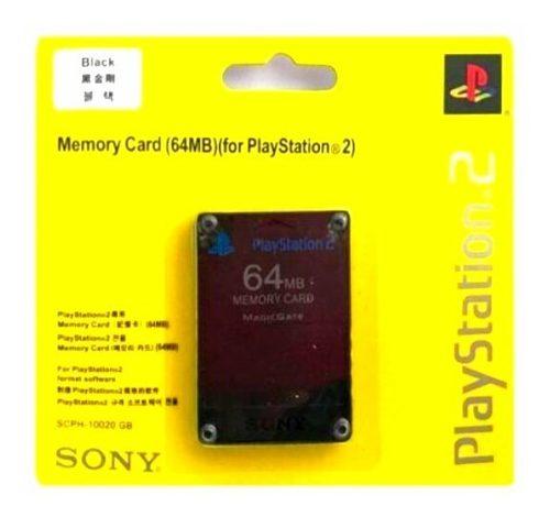 Tarjeta Memory Card Para Ps2 (64mb)