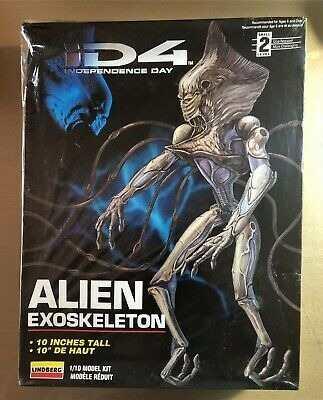 Alien Exoskeleton Independence Day Para Armar