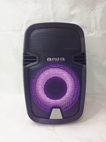 Corneta Aiwa Multifuncional Portátil Con Bluetooth