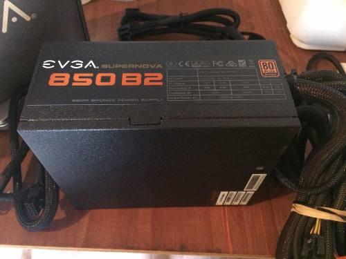 Fuente De Poder Evga Supernova 850 B2 Certificada 80 Plus