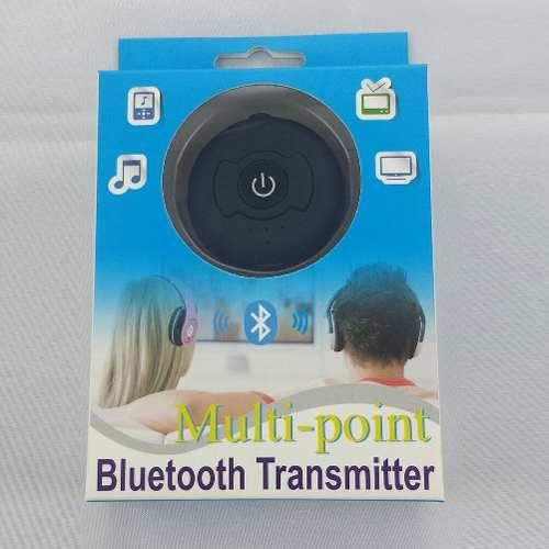 Transmisor Bluetooth Tv 2 Audifonos O 2 Cornetas 40v