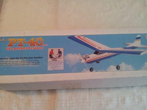 Vendo Kit De Avión Trainer Pt-40mkii Great Planes O Cambio