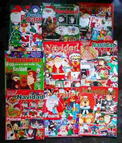 9 Revistas De Navidad Manualidades