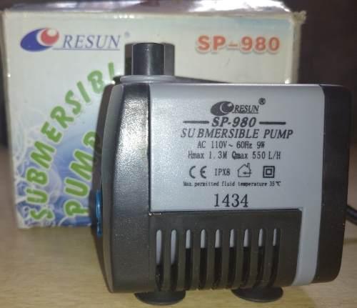 Bomba De Agua Sumergible 550 Para Pecera Fuente Río/cascada