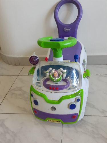 Carrito Montable Musical Disney Para Niños