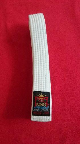 Cinturón Blanco De Karate Bushido