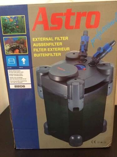 Filtro Canister Cascada Astro Externó 400 L/h Para Acuario