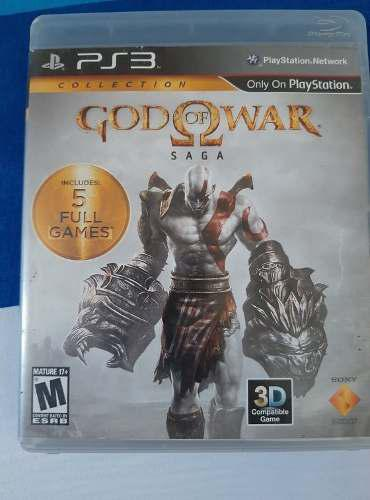 Juego Original Play 3. God Of War. Saga. Trae El 1, 2, 3.