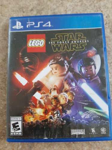 Juego Ps4 Lego Starwars, Precio 25
