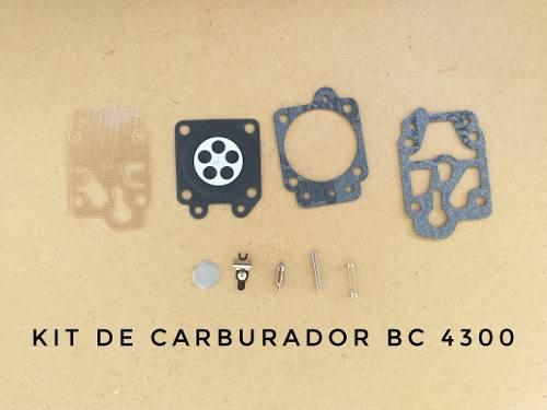 Kit Reparación Carburador De Desmalezadora Bc 4300