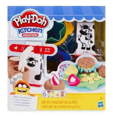 Play Doh Kitchen Leche Y Galletas Cookies