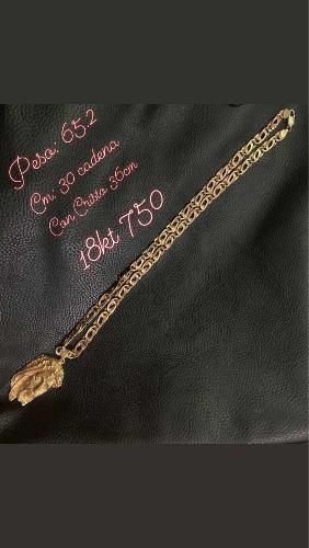 Se Vende Cadena De Oro 18kt 750