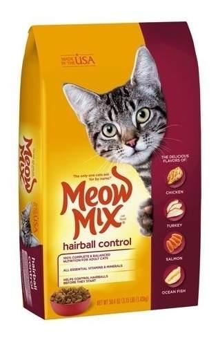 Alimento Para Gatos Previene Bola De Pelos, 1,43kg