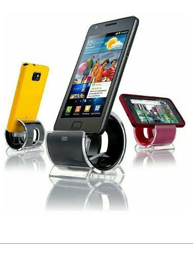 Cargador Base Para Celulares Samsung Con Cable Micro Usb