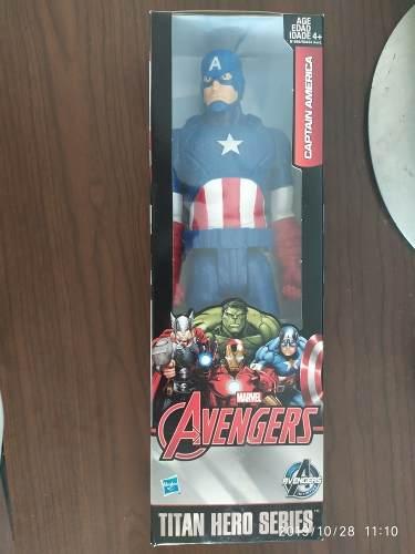 Figura De Acción Avengers Capitán América Original Hasbro