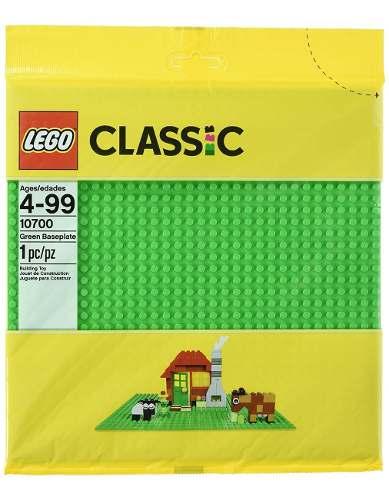 Figura Lego  Suplemento De Base Verde De Lego