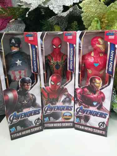 Figuras De Acción Iron Man, Capitan América 18verdes