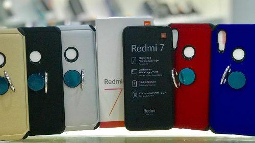 Forro + Vidrio Protector Xiaomi Redmi 7a Y 7
