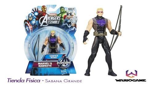 Muñeco Halcón Hawkeye Los Vengadores Marvel Hasbro
